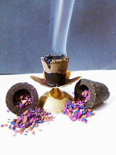 ALL-IN-ONE INCENSE CHARCOAL BURNER WICCA PAGAN HEX SPELL HERBS RITUAL MEDITATION