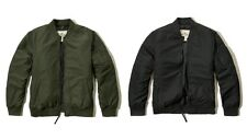 NWT Hollister By Abercrombie & Fitch Mens Lightweight Bomber Jacket Outerwear