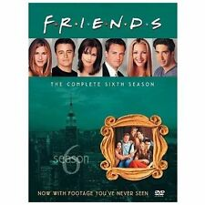 Friends ~ Complete 6th Sixth Season 6 Sixth ~ BRAND NEW 4-DISC DVD SET