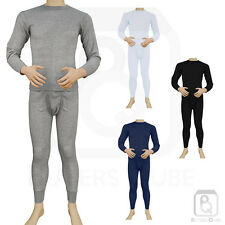 Knocker Mens 2pc Thermal Underwear Set Long Johns Waffle Knit Top Bottom S M L