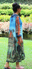 H&M Conscious Exclusive Collection Silk Pattern Tunic Kaftan Dress 8 10 12 14 16