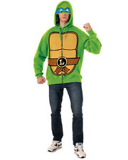 Adult's Mens Teenage Mutant Ninja Turtles TMNT Leonardo Zip Up Hoodie