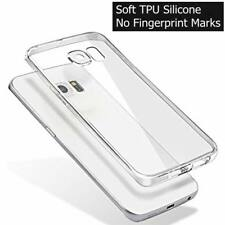 Ultra Thin Slim Clear TPU Silicone Gel Case Cover For Samsung Galaxy Models
