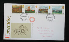 STAMPS 1979 ROYAL MAIL. FIRST DAY COVER. HORSERACING PAINTINGS & THE DERBY.