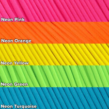 550 Paracord Mil Spec Type III 7 strand parachute cord 10 20 50 100 neon colors