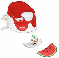 Prince Lion Heart BebePOD Chubs Plus Baby Sitter and Booster Seat, Watermelon Re