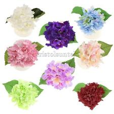 1x Artificial Silk Hydrangea Home Table Vase Decor Bridal Holding Flower Bouquet