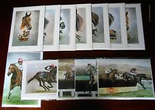 Famous Racehorses & Jockeys Greetings Cards Racing Thistlecrack et al Flat Jumps