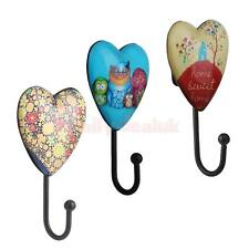 Various Retro Wall Door Mounted Hanger Holder Coat Clothes Hat Towel Robe Hook
