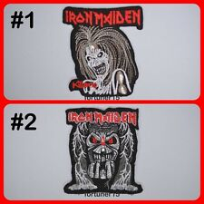 IRON MAIDEN Heavy Metal Rock Music Band Logo Embroidered Sew Iron On Patch Badge