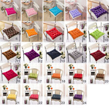 40cm Square Dining Garden Patio Chair Seat Pad Tie On Pad Cushion Outdoor Decor