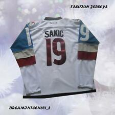 Colorado Avalanche Joe Sakic #19 White Men Joe Sakic Hockey Jersey