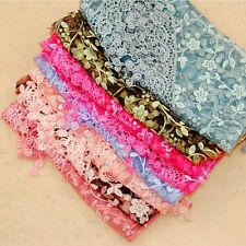 Top Triangular Lightweight Floral Wrap Crochet Scarf Lace Fashion Triangle