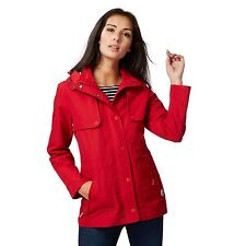 Maine New England Womens Red Shower Resistant Hooded Jacket From Debenhams