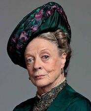 "DOWNTON ABBEY  - Maggie Smith - Cast Photographs Various - 10"" x 8"" Colour"