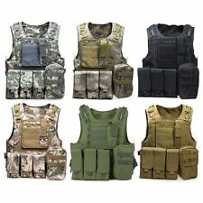 Vest Tactical Molle Military Carrier Condor Load Black Plate New Modular Rig Ncs