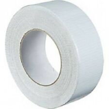 """Strong White Duck Duct Cloth Waterproof Gaffer Gaffa Tape 2"""" 48mm X 50m"""