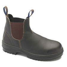Blundstone WORK BOOTS 140 BROWN Leather, Steel Cap*AUS Brand-Size 5, 6, 7 Or 7.5