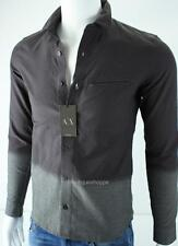 Armani Exchange A X Mens Fitted Casual Ombre Button Front Shirt NWT $99