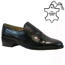 NEW MENS REAL LEATHER FORMAL ITALIAN CASUAL FORMAL OXFORD OFFICE WEDDING SHOES