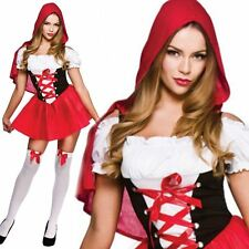 Sexy Little Red Riding Hood Fairytale Book Week Ladies Fancy Dress Outfit