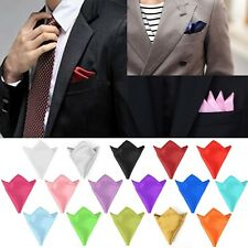 Suit For Wedding Dress Party Hanky Handkerchief Silk Hanky Pocket Square