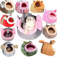 Soft Pet Dog Cat Bed House Kennel Cute Doggy Puppy Warm Cushion Basket S-L