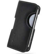PDair Black Leather Horizontal Pouch Ver. 2 for Samsung i8910 Omnia HD