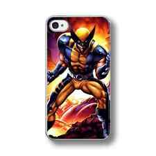 COOL WOLVERINE HERO X-MEN Hard Phone Case Cover FITS IPHONE MODELS.