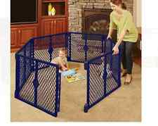 North States Superyard Gate Baby Play Yard Portable Indoor-Outdoor Playpen safty