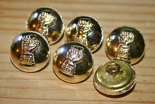 6x The Royal Armoured Corp Regiment Military Buttons 20mm