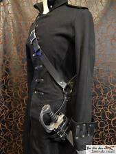 Leather baldric scabbard for latex sword, good for saber sword! Pirate, LARP,SCA