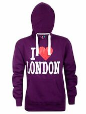 Mens I Love London Casual Workwear Fleece Hoodie Sweatshirt Hooded Top X-Large
