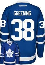 Colin Greening New Toronto Maple Leafs NHL Home Reebok Premier Hockey Jersey