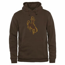 Wyoming Cowboys Brown Classic Primary Pullover Hoodie - College