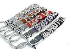 Personalized Key Chain Any Names & Car Plates 5 Free Letter & Charm Best Gift