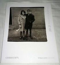 Christies Auction Catalog New York March 31 2015 20/21 PHOTOGRAPHS 3726