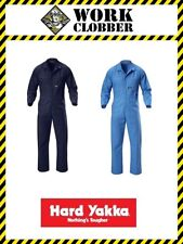 Hard Yakka Poly Cotton Coverall Y00015 NEW WITH TAGS!