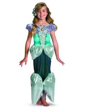 Child Deluxe Disney The Little Mermaid Princess Ariel Shimmer Costume