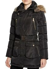 Michael Kors  Mid-length Down Filled Coat with Zip-Out Hood
