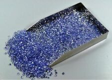 1mm - 5mm Natural Tanzanite Round Faceted Cut Loose Gemstone Wholesale Lot