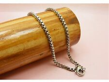 ~Custom Made~ Women Genuine STAINLESS STEEL Link CHAIN NECKLACE ~Various Style ~