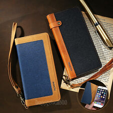 """Card Holder Flip Wallet Leather Case Cover Skin For Apple iPhone 6 6S Plus 5.5"""""""