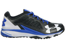 NEW MENS UNDER ARMOUR DECEPTION TRAINER RUNNING SHOES TRAINERS BLACK / ROYAL