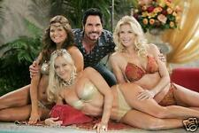 the Young and Restless  8X10 CAST COLOR PHOTO   the Bold and the Beautiful