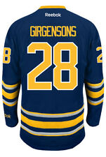 Zemgus Girgensons Buffalo Sabres NHL Home Reebok Premier Hockey Jersey