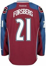 Peter Forsberg Colorado Avalanche Reebok Premier Home Jersey NHL Replica
