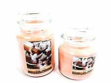 Colonial Candle Spiced Cookie Scent Scented Glass Jar Candle FREE SHIPPING