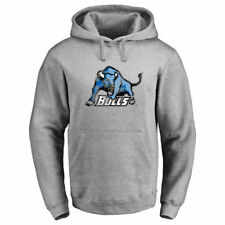 Buffalo Bulls Ash Classic Primary Logo Pullover Hoodie - College