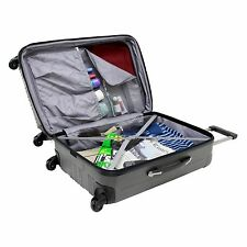 Travelers Choice Luxembourg 2-Piece Hardside Expandabe Spinner Set with Free